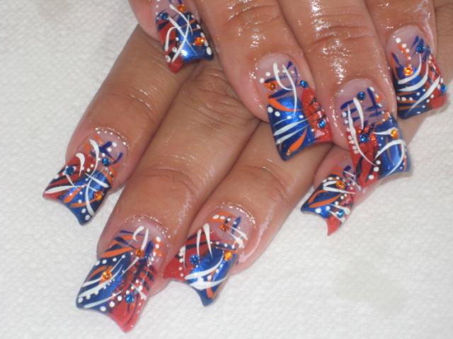 acrylic nail art. Nails play an important part