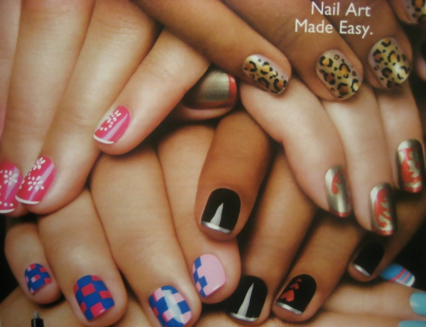 The Fascinating Cute simple nail designs pink Digital Imagery