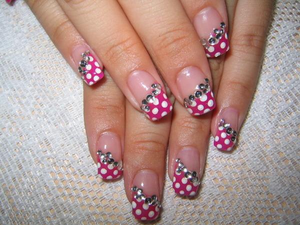 Simple nail designs tiger