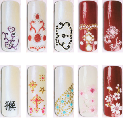 ideas for nail art designs. But the truth is that art is